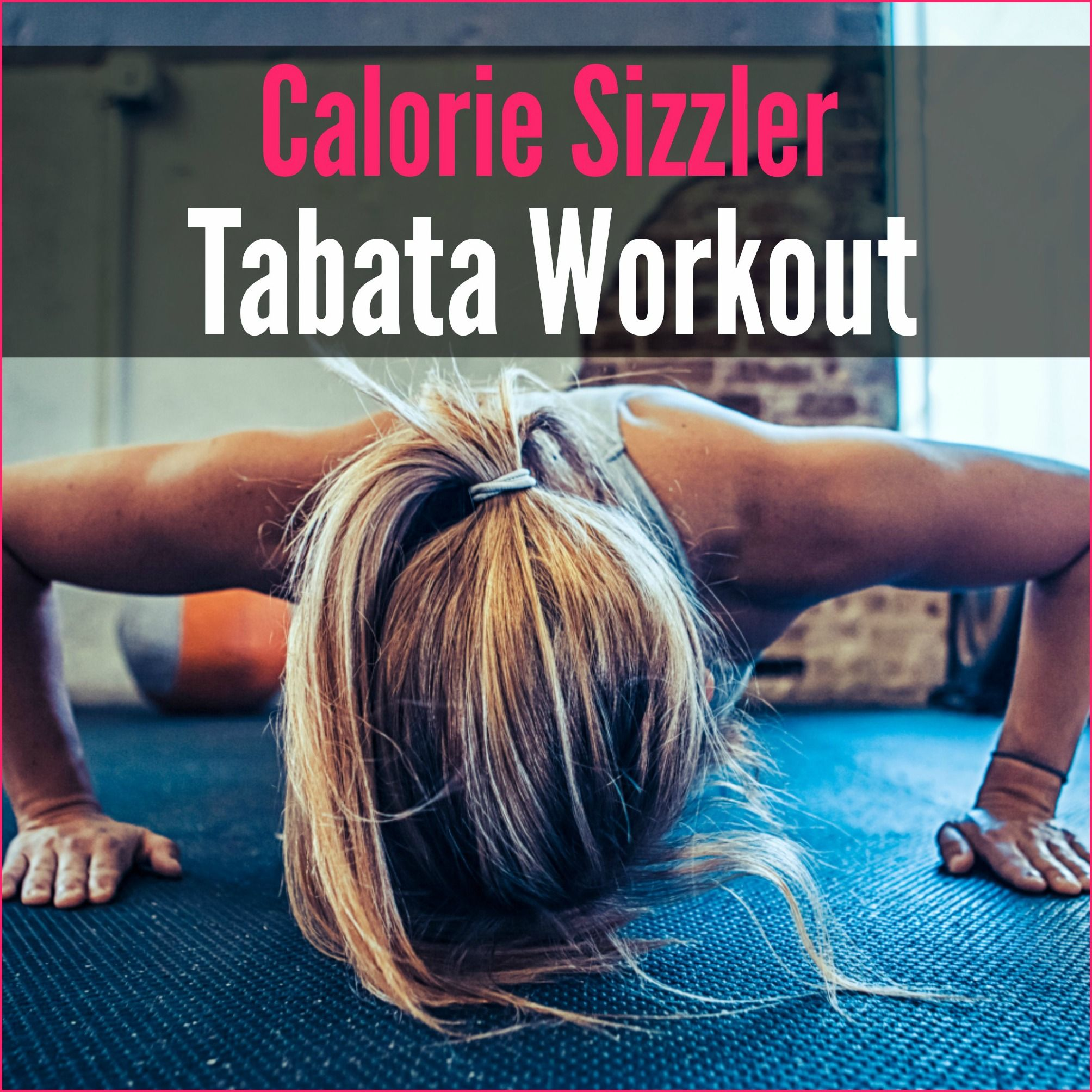 This fun workout combines tabata-style intervals with superset strength training rounds to make one heck of a full-body cardio and strength routine!