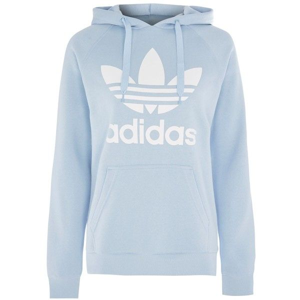 Trefoil Hoodie by Adidas Originals ( 64) ❤ liked on Polyvore featuring  tops 23bd57e0f4a