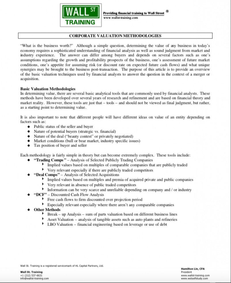 Wall Street Oasis Resume Template Best Of Corporate