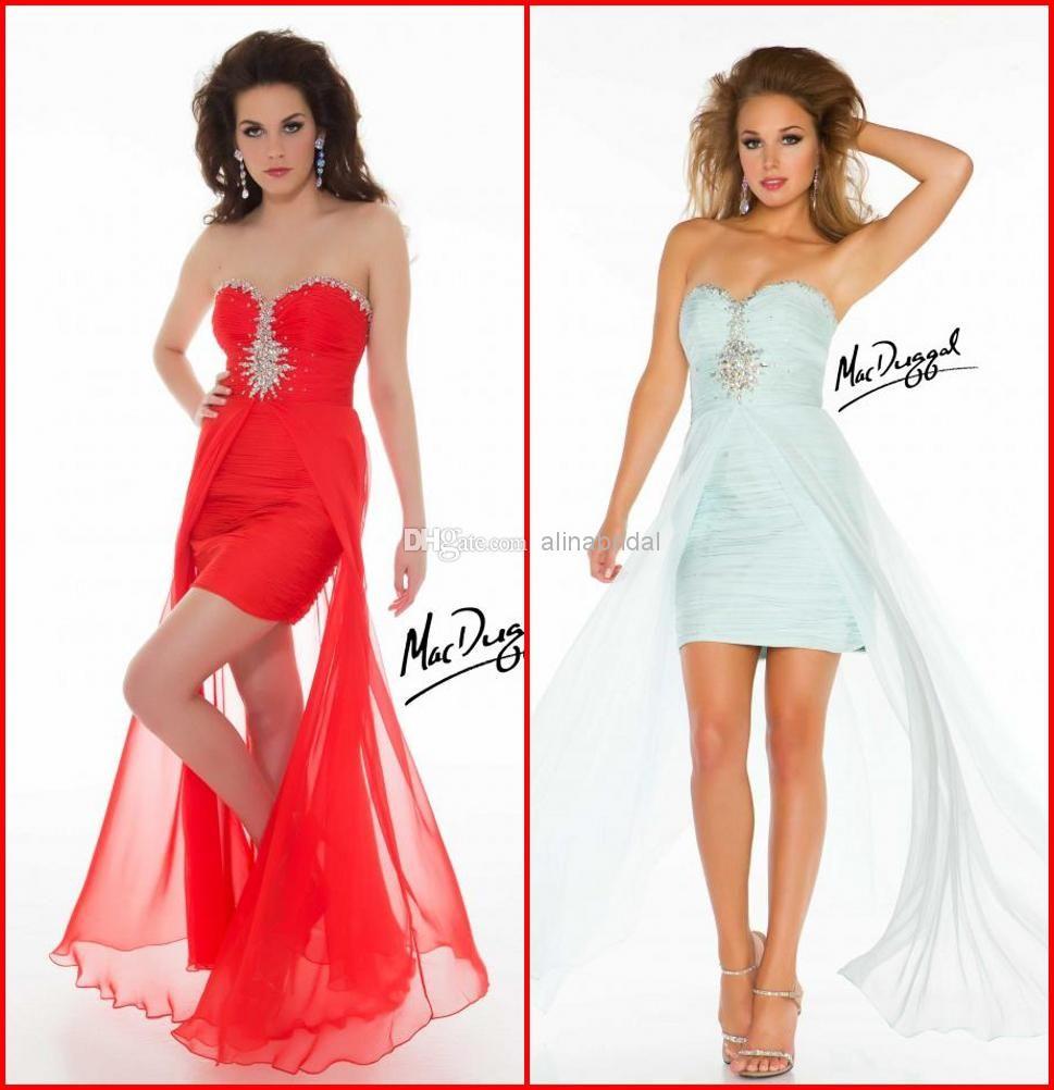 Wholesale prom dresses buy mac duggal prom dresses red