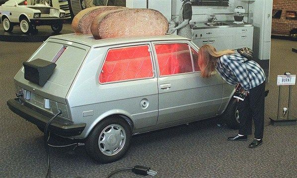 The toaster on wheels! I always got this car in MASH! oh 90 kid problems haha
