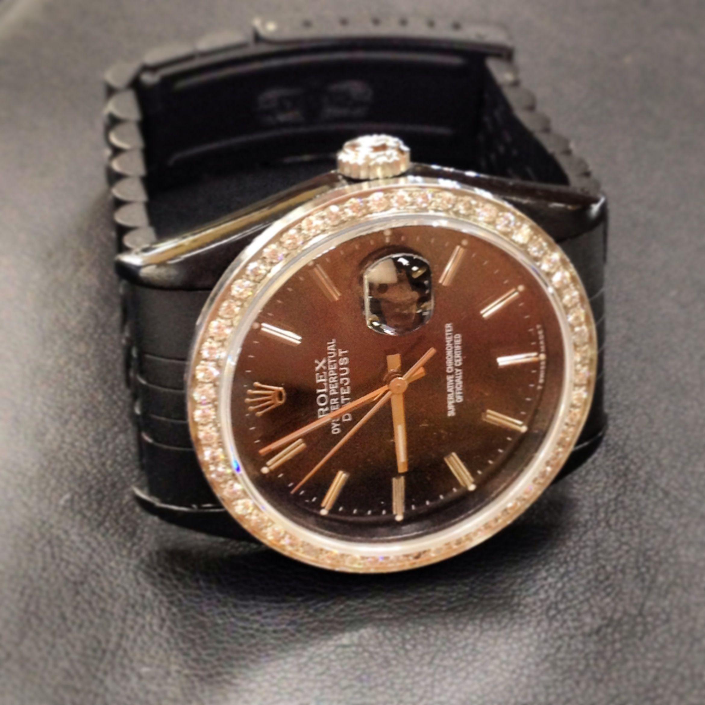 Rolex Datejust With Black PVD Coating @Kooshjewelers www.kooshjewelers.com (954) 927-7777