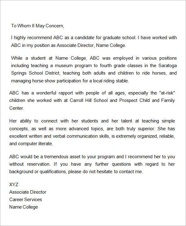 Letter-of-Recommendation-for-Graduate-School-from-Employer g