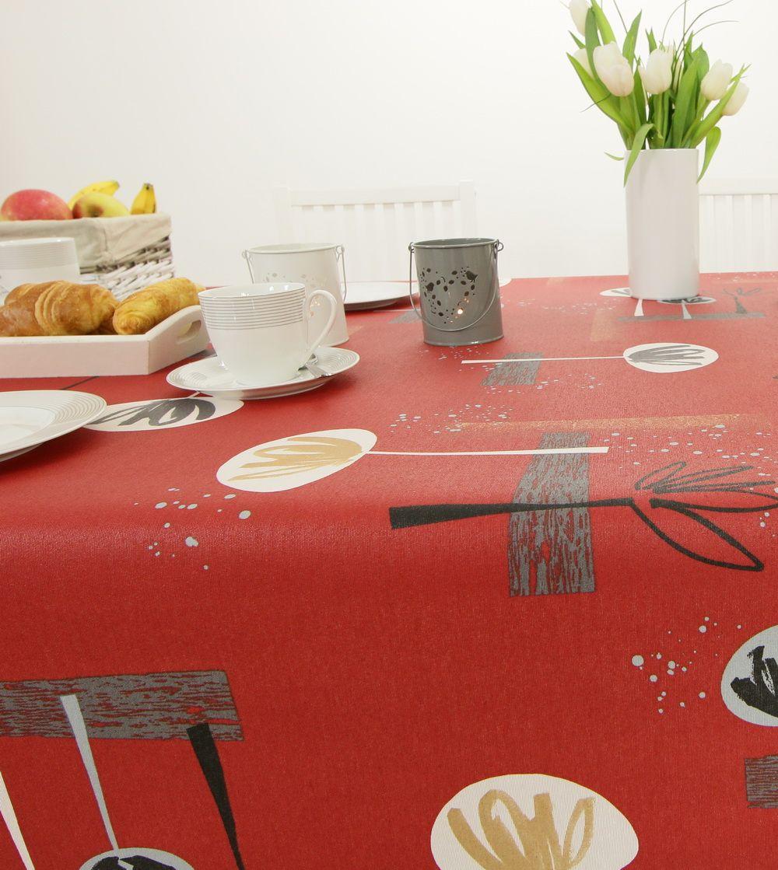 abwaschbare bistro tischdecke von tischdecken abwaschbare tischdecke praktisch. Black Bedroom Furniture Sets. Home Design Ideas