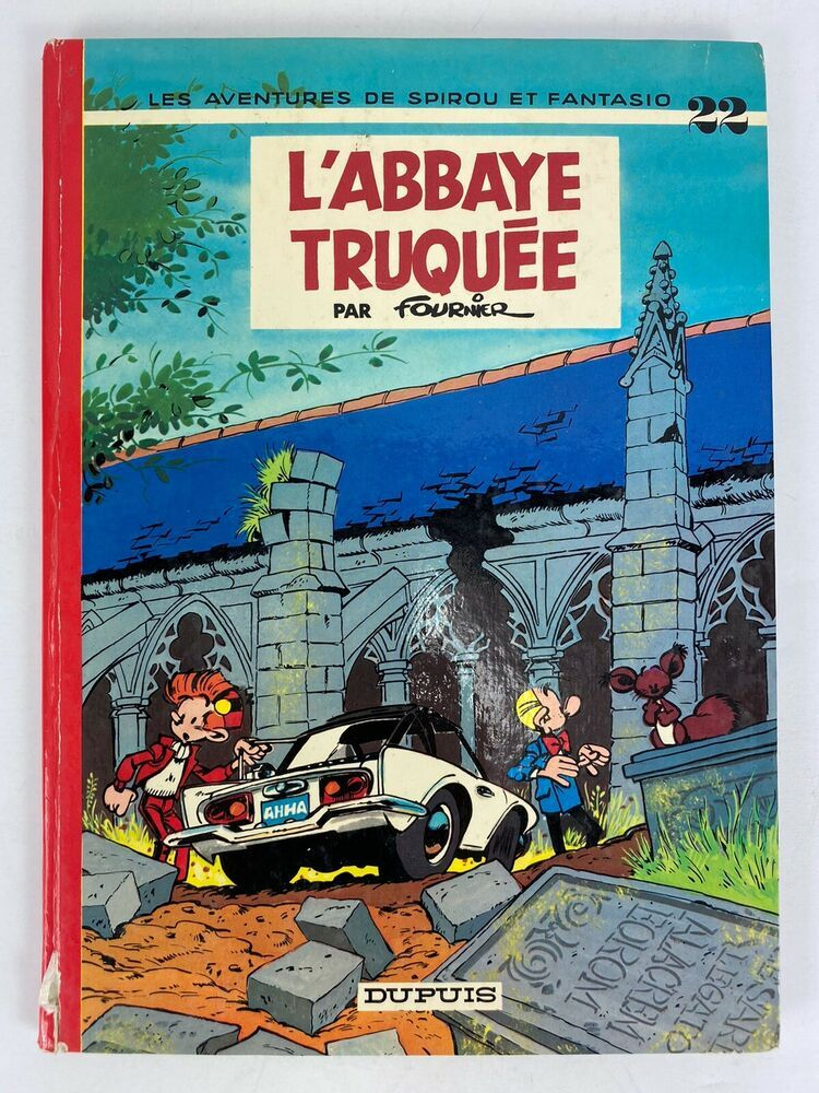 1972 Spirou Et Fantasio 22 L Abbaye Truquee Bd Dos Rond Franquin French Comics In 2020 Comics Comic Books Comic Book Cover