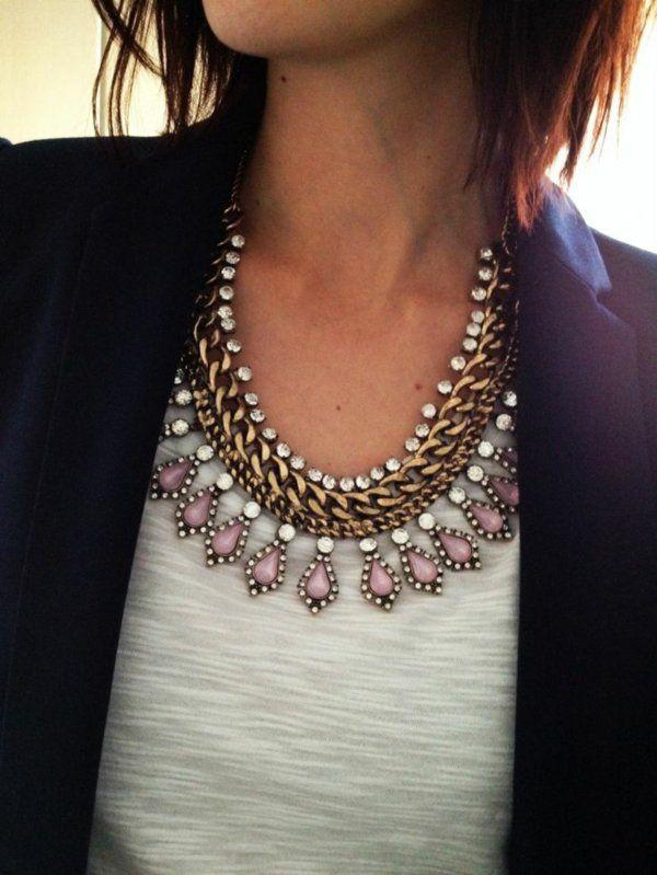 collier chic pour femme