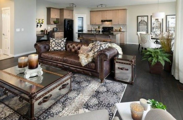 Modern living room in brown? 100 new proposals images