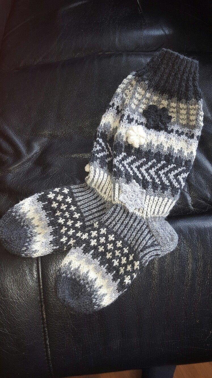 Socks knitted