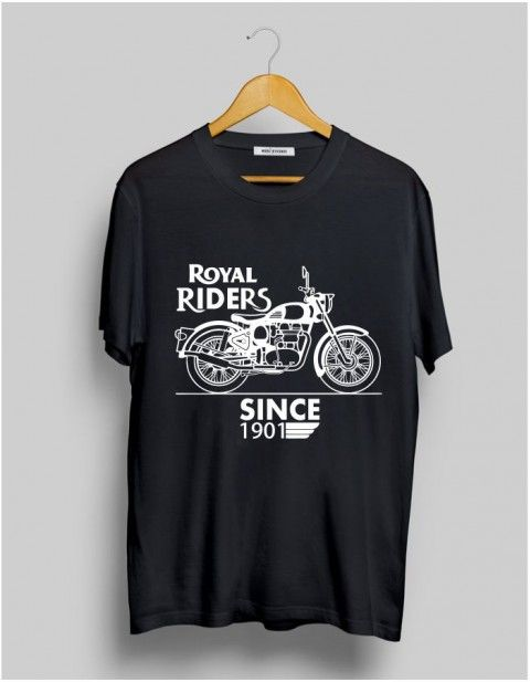 16f43f2ad Buy #royalenfield Rider Printed T-Shirt online at TrendsMod for men.  Exclusive store to buy the most happening design in trend.