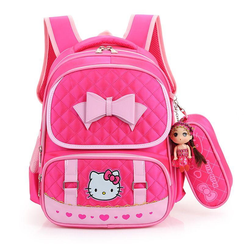 Backpacks For Children Girl Boy Primary School Bookbag Grade 1-4 Children  Kids School Backpack 5a6e29c440