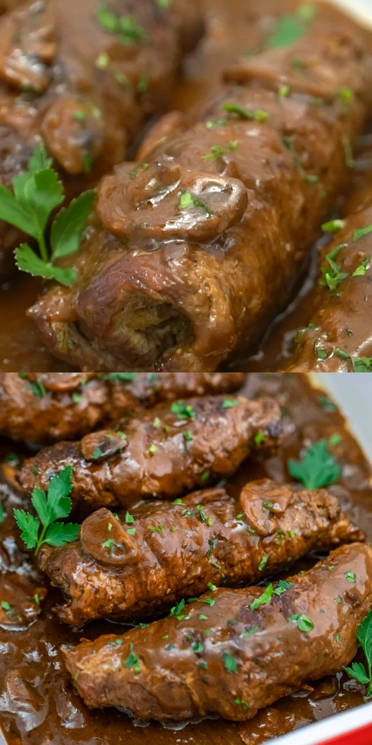 Traditional Beef Rouladen is pure comfort food!