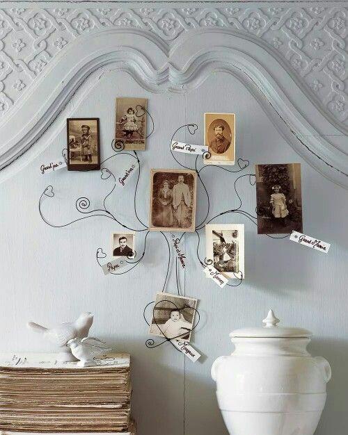 photocraft #genealogy #familyphoto | Marie Claire Idees | Pinterest