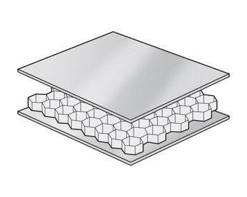 Venturelite 2020 | Honeycomb, Aluminium sheet, Wall