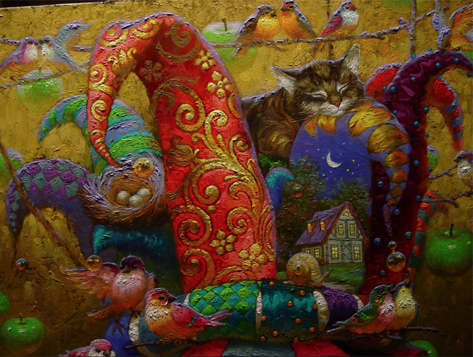 Victor Nizovtsev, oils painter of Fables, Fantasy and
