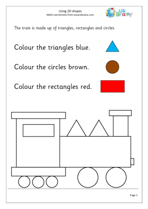 Using 2D shape (1)