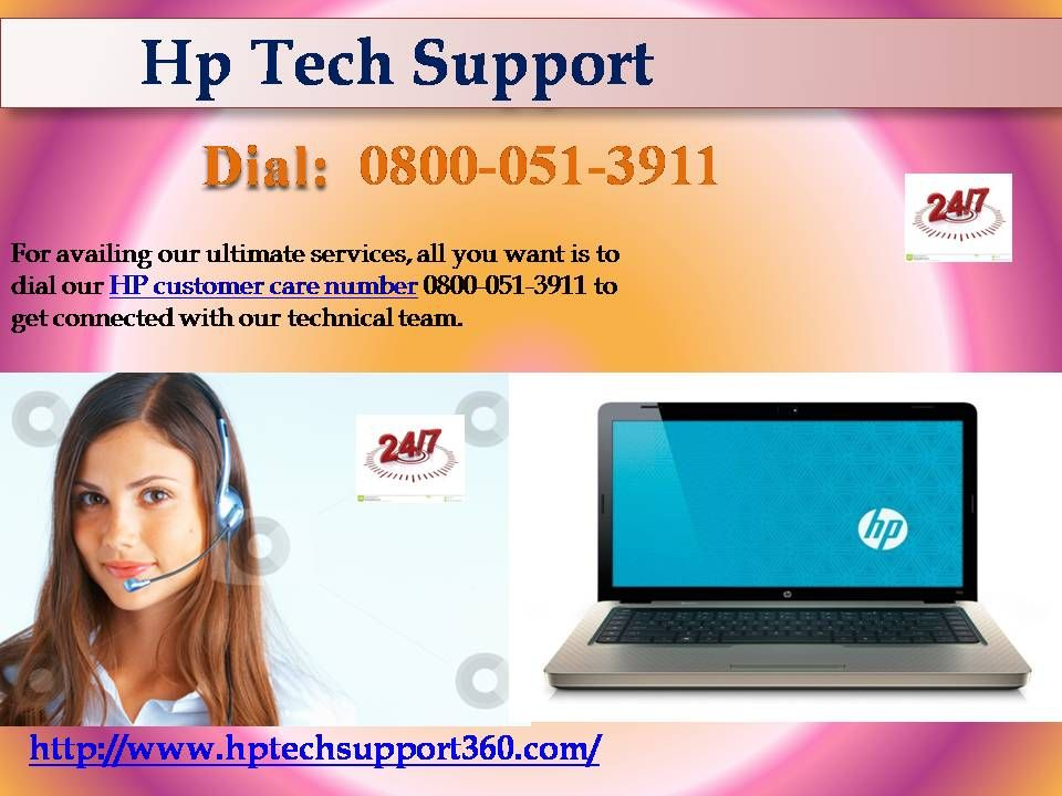 Continue your HP concern free with HP support 0800051