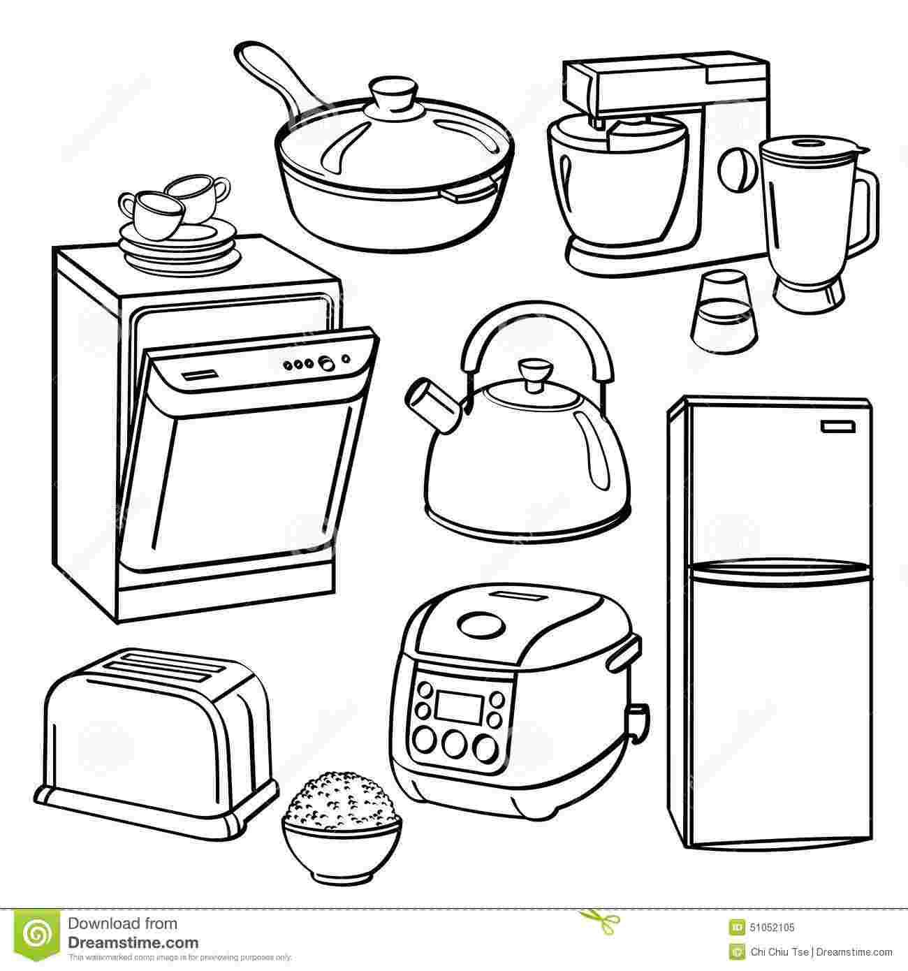 Kitchen Tools Coloring Pages Coloring Pages Kitchen Utensils Food Coloring Pages