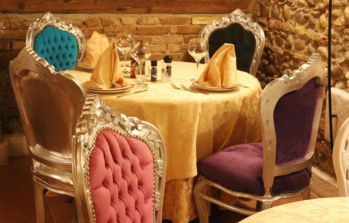 Sedie Barocche ~ Sedie barocco parigi argento con tessuto colorato sedie in legno