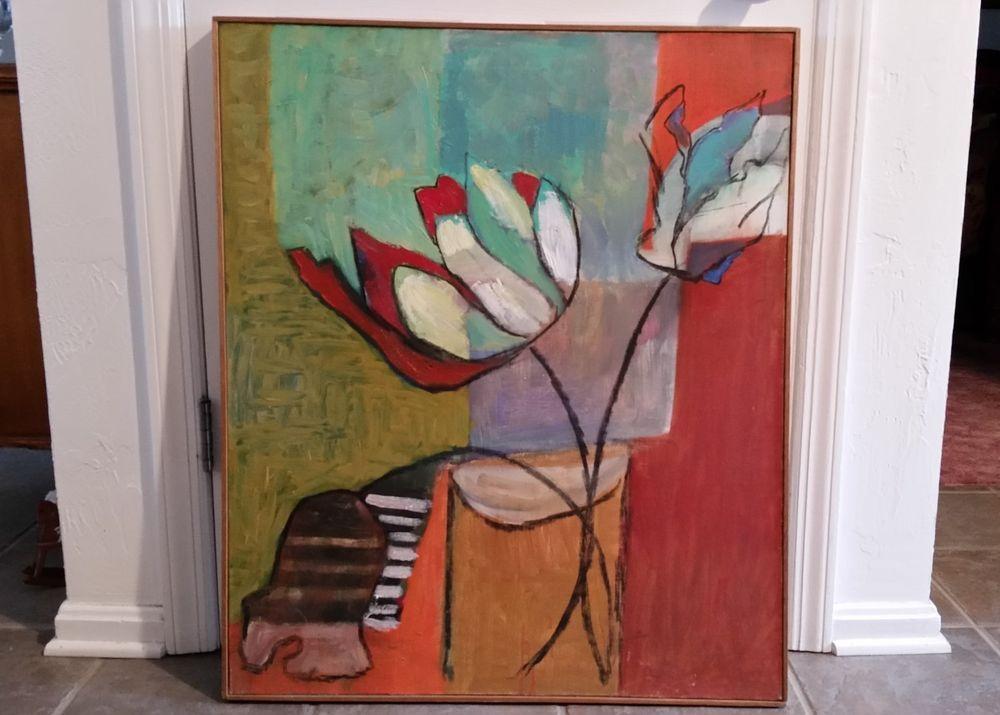 1950s Modern Abstract Art