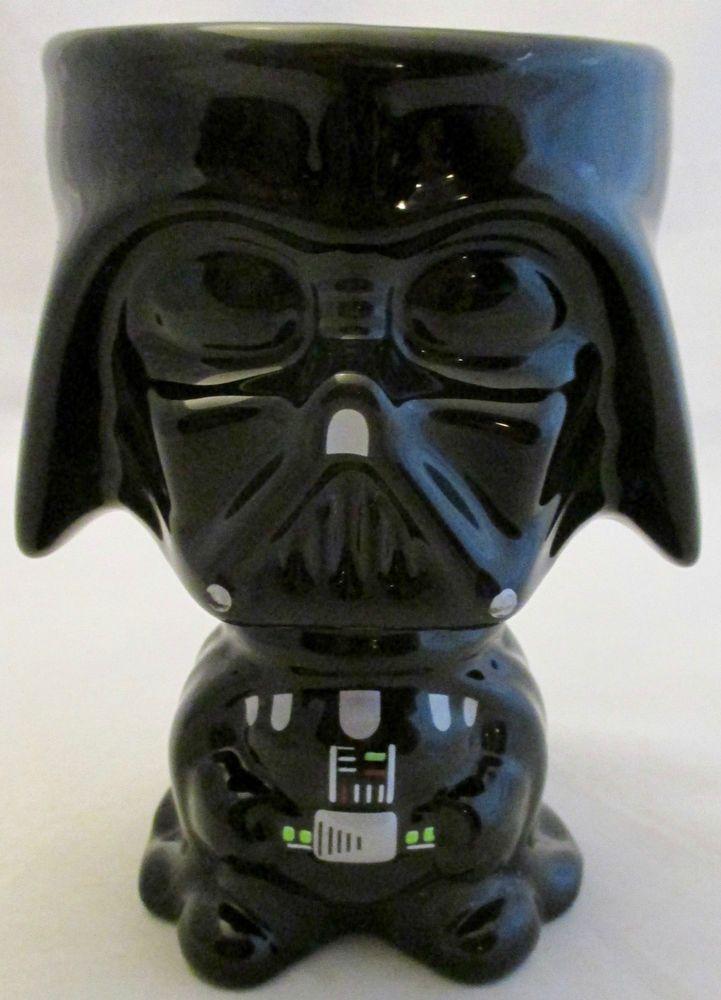 Star Wars Darth Vader Black Ceramic Goblet Cup Coffee Mug By Galerie Star Wars Collection Star Wars Darth Vader Star Wars