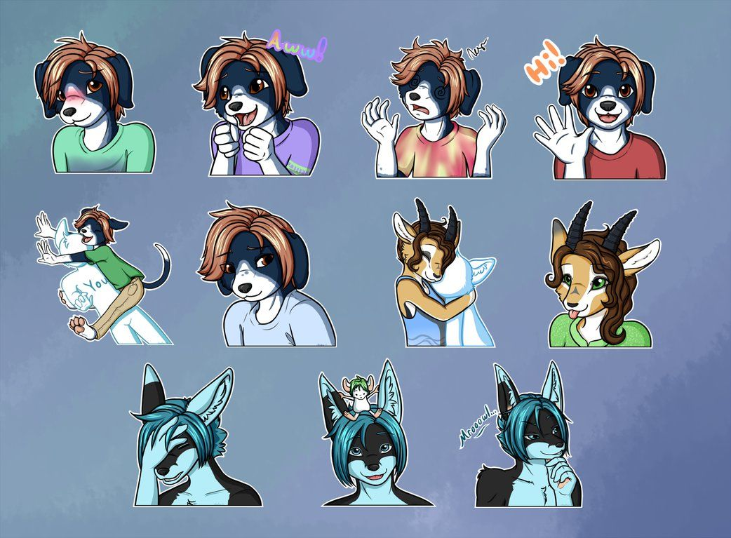 Telegram Stickers Batch 3 by Aludra Telegram stickers