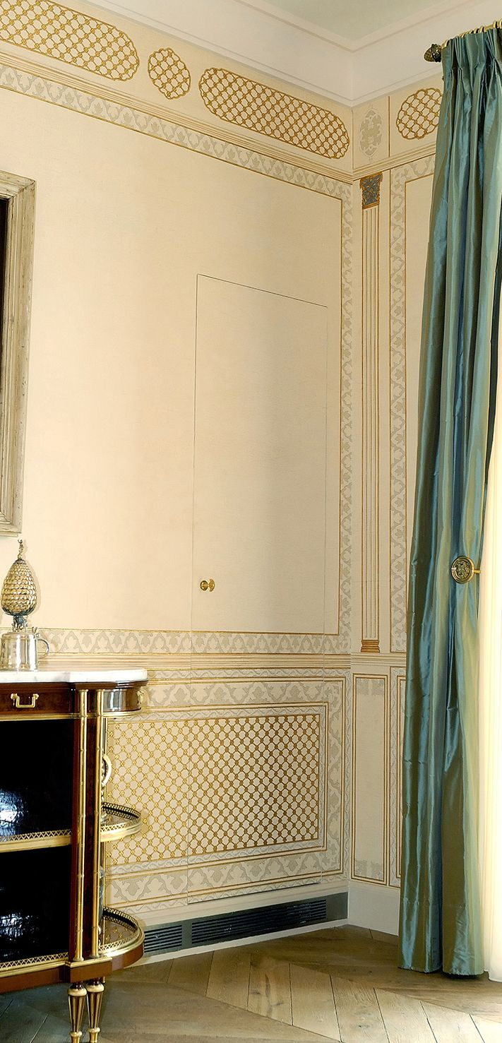 IKSEL decorative arts .:. Projects / Hand Painted Rooms   Murals ...