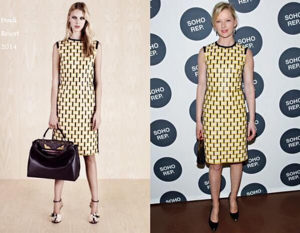 Gretchen Mol In Fendi Resort - Soho Rep's 2014 Spring Fete. Re-tweet and favorite it here: https://twitter.com/MyFashBlog/status/451131616979464192/photo/1