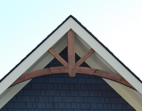 Timber Frame Gable End Detail Google Search In 2019