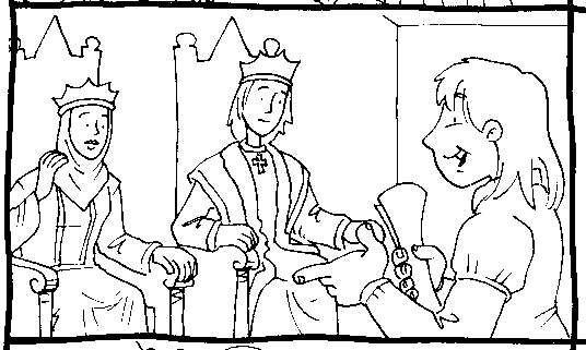 Esta Foto Demuestra A Cristobal Cololn Con El Rey Y La Reina De Espana Fernando Y Isabel Pa Dia De La Hispanidad Cristobal Colon Biografia De Cristobal Colon