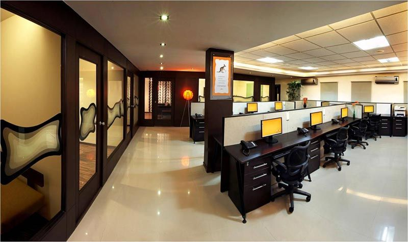 M M Connect office interiors Bangalore SAVIO and RUPA Interior