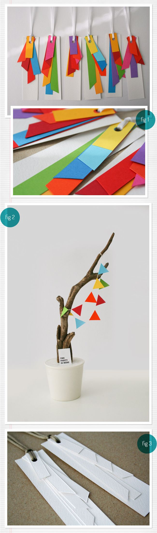 #geometric paper goods