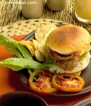 Vegetable Burger Recipe Veg Burger Recipe How To Make Veggie Burger Recipe Recipe Vegetable Burger Recipe Vegetable Burger Veg Burgers Recipe