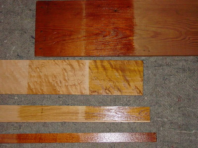 Which Sealer To Use To Retain Natural Wood Colour Paint