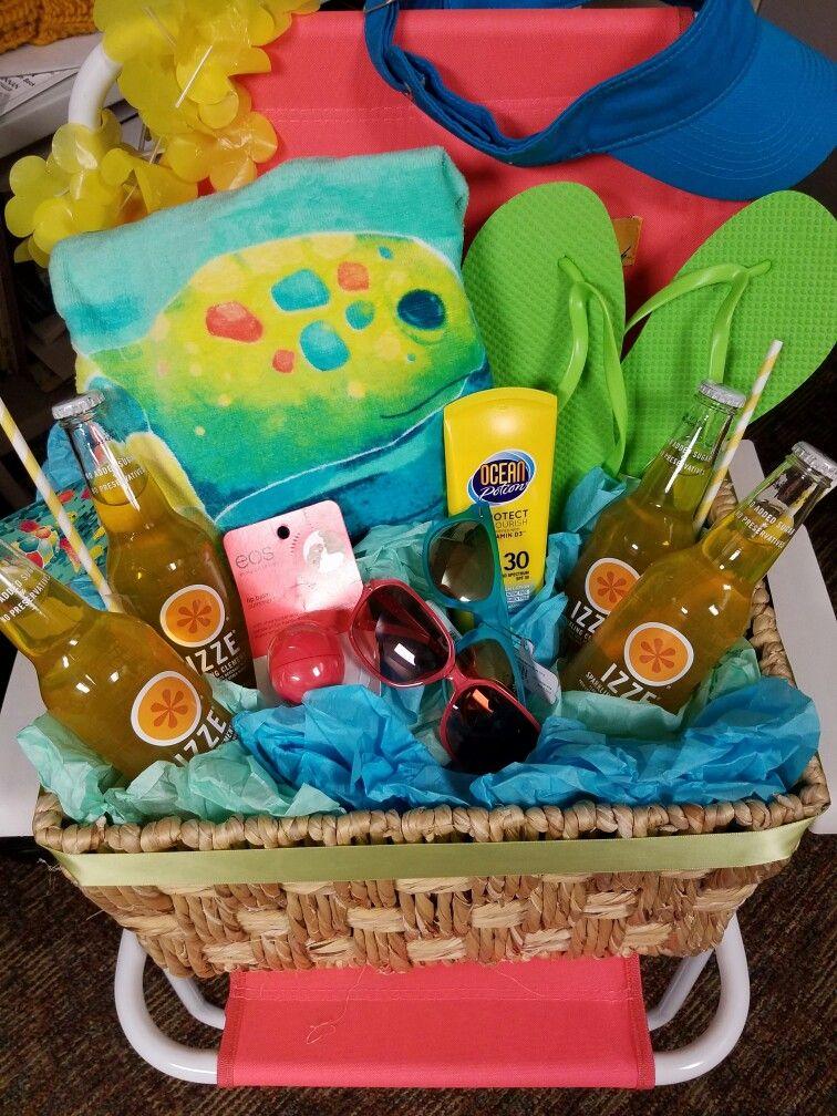 Beach basket beach basket gift wrapping basket
