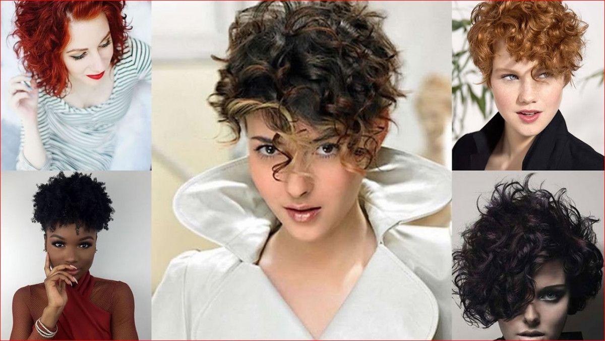 40 Curly Hairstyles For Short Hair Wavy Bob Haircuts 2019