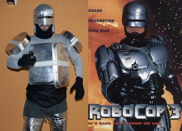 Low Budget Robocop Halloween Costumes T