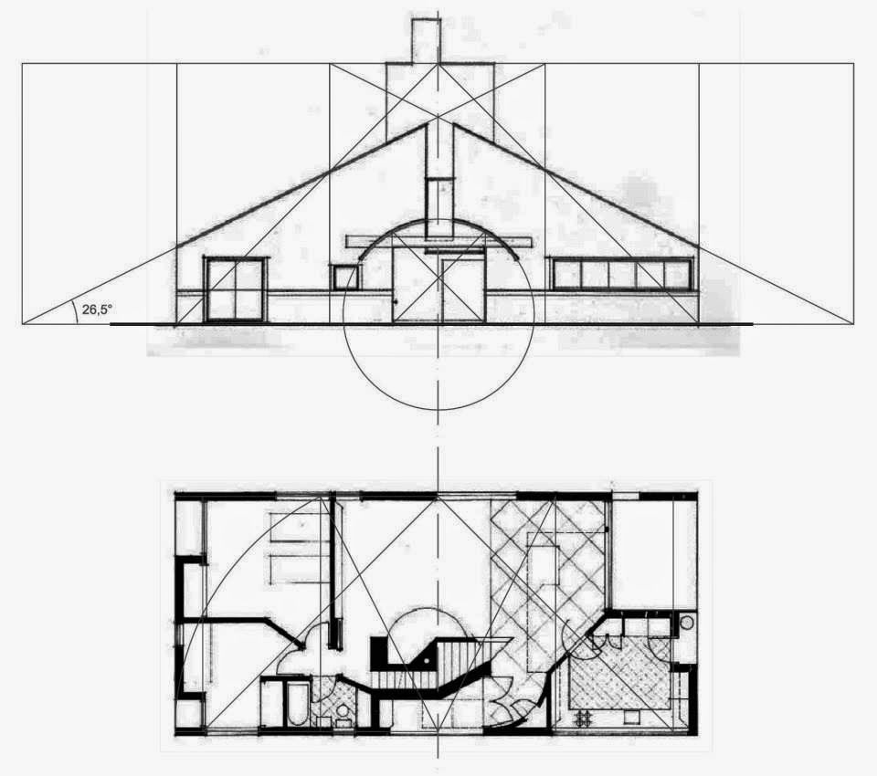 Vanna Ventury House By Robert Venturi In Philadelphia 1964 USA