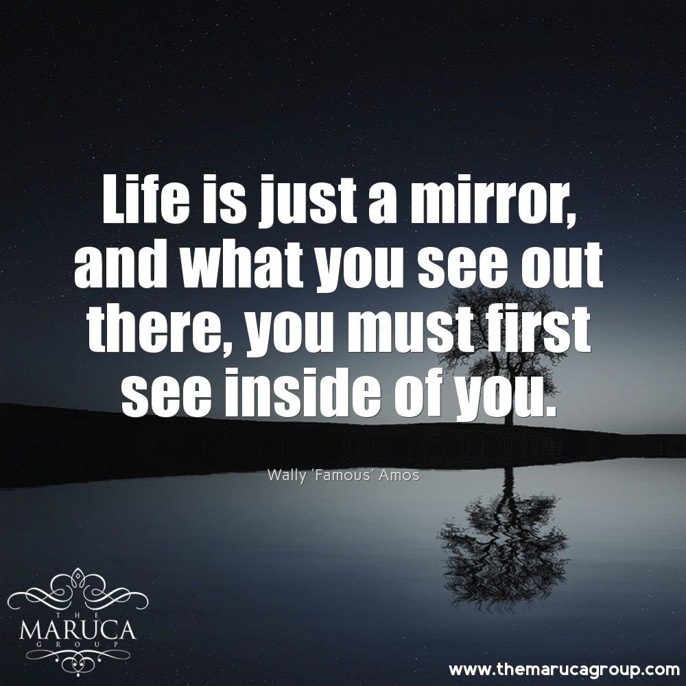 Life is just a mirror and what you see out there, you must first see inside of you. (Wally 'Famous' Amos) For Professionally managed villas around the world 🌎-The Maruca Group For Details:  Please contact us @themarucagroup  Reservations@themarucagroup.com  www.themarucagroup.com  +1305-218-5216 #Southbeach #Bahamas #Miami #Palmsprings #life #mirror #family #Inspiration #motivation #lifeqoutes #dailyqoutes  #judge #analyse #qoutes #qoutation #motivationalqoutes #inspirationalQoutations…