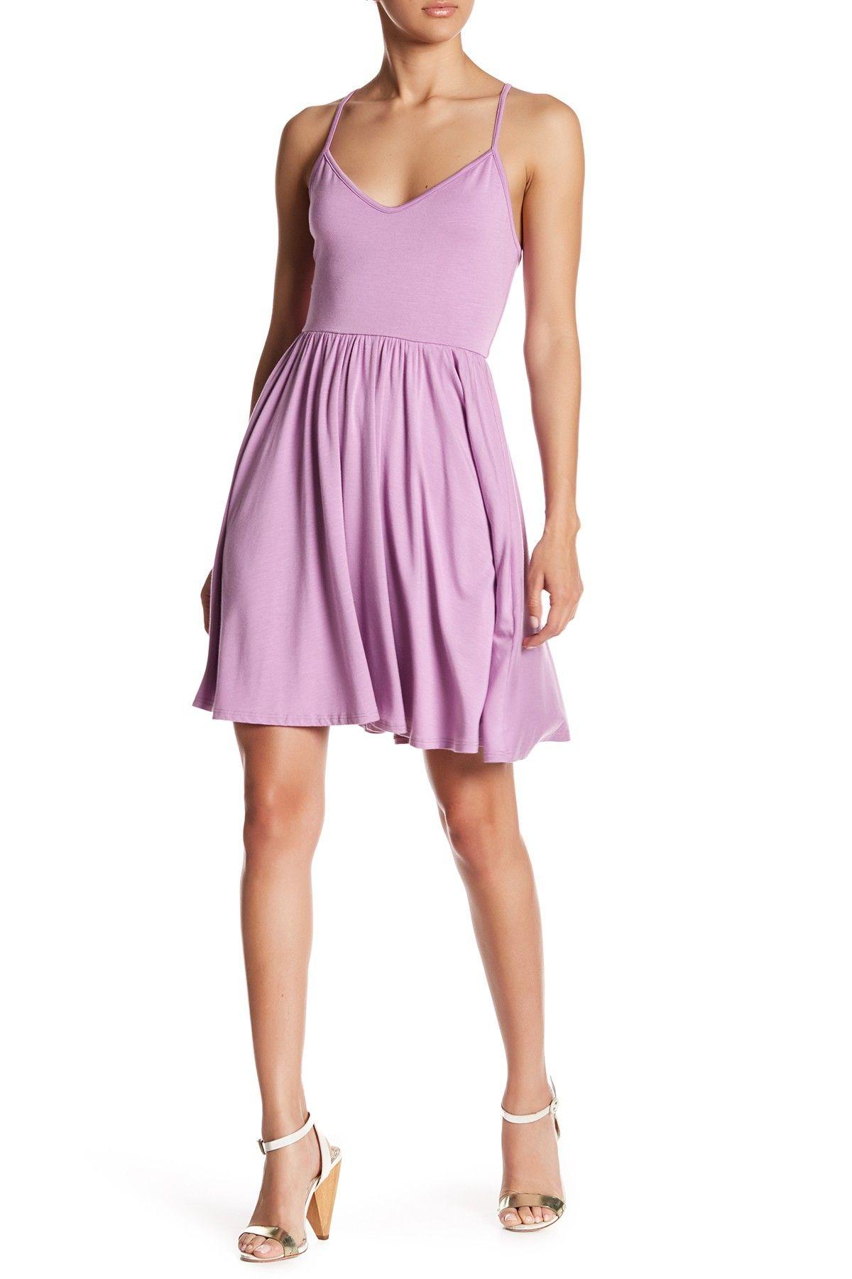 Hunter Lace-Up Dress