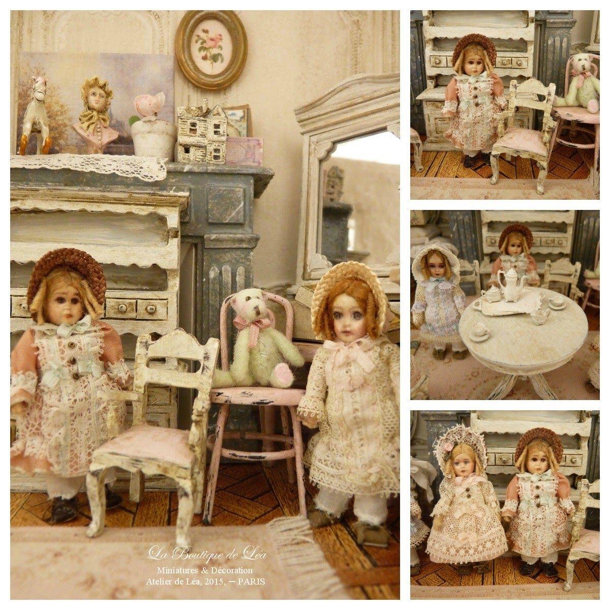*♥ Atelier de Léa - Un Jour à la Campagne ♥*: Le thé des poupées
