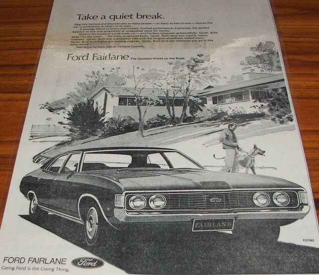 Old Ford Advertisements 1973 Ford Zf Fairlane Ad By Five Starr Photos Aussiefordadverts Via Flickr Fairlane Old Fords Old Advertisements
