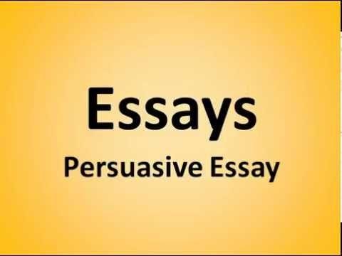 Persuasive essay recycling