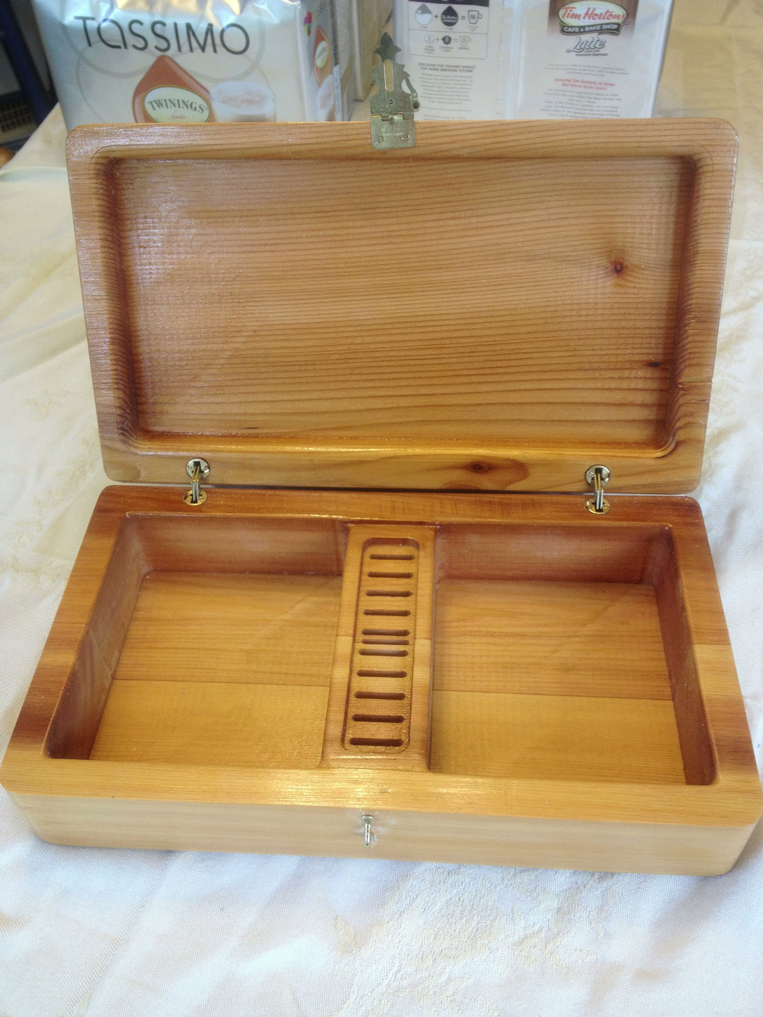 Jewelry box pocketed out with the CNC CNC Router Pinterest