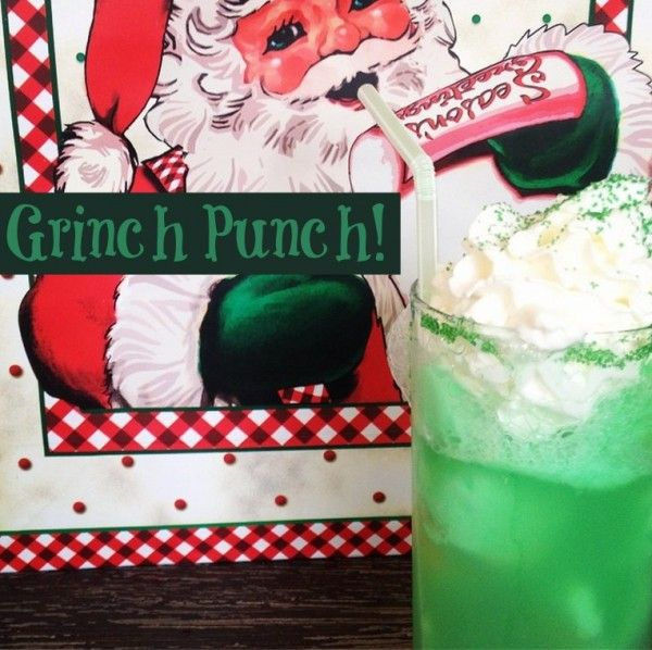 Grinch Punch WITH The Vodka (With Images)