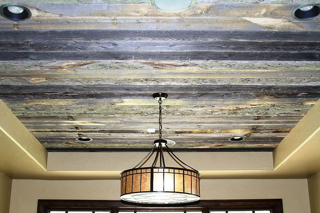 Centennial Woods Ceiling, Great For Living Room Or Den