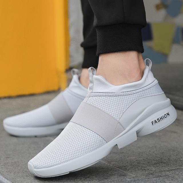 0cd14a479 Spring Autumn New models men shoes 2018 fashion comfortable youth casual  shoes For Male soft mesh design lazy shoes