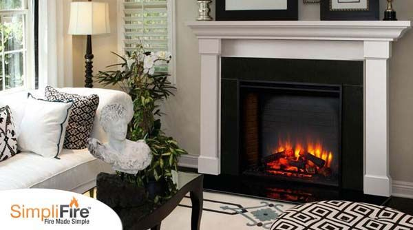 Majestic Simplifire Built In Electric Fireplace 36 Inch