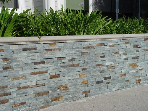 Bluestone Veneer, Retaining Wall, Stone Veneer Maureen Gilmer Morongo  Valley, CA · Retaining Wall LandscapingRetaining ...