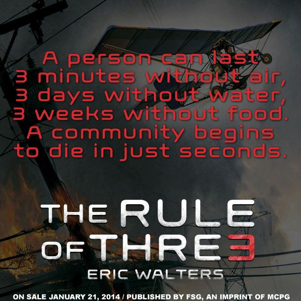 Quote from THE RULE OF THREE by Eric Walters