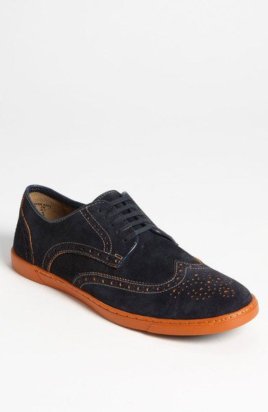 Hush Puppies® Carver Oxford in Blue for Men (navy) (With